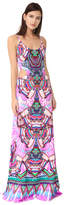 Roberto Cavalli Sleeveless Maxi Dress