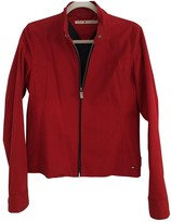 Tommy Hilfiger Red Cotton Jacket for Women