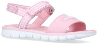 Dolce & Gabbana Leather Ticker Sandals