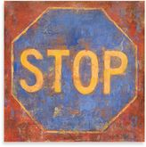 "Bed Bath & Beyond Michael Longo ""Stop"" Canvas Art"