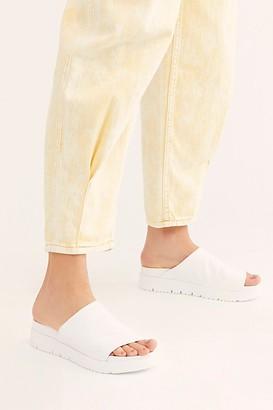 Free People Splash Flatform Slide Sandals by Bueno at