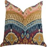 """Bungalow Rose Reidy Ikat Luxury Pillow Size: 12"""" x 25"""", Product Type: Lumbar Pillow"""
