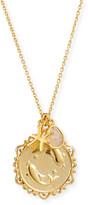 Tai Zodiac Charm Necklace w/ Moonstone