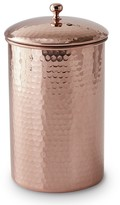 Hammered-Copper Canisters