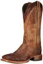 Stetson Men's 13 Inch Tooled Wing Tip Riding Boot