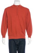 Kiton Cashmere Zip Sweater