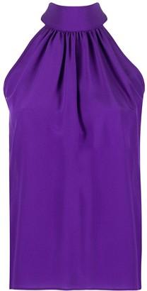 Jejia Halterneck Silk Blouse