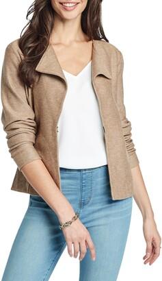Nic+Zoe Knit Moto Jacket