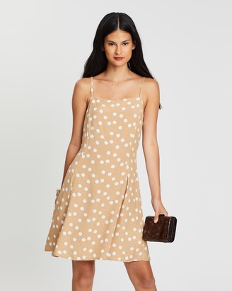 Mng Lula Dress with Hair Tie