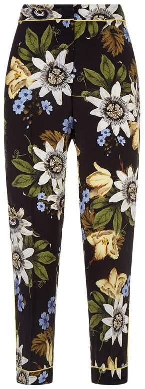 Erdem Ginnie Floral Trousers
