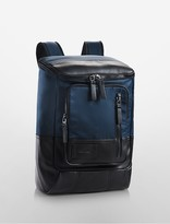 Calvin Klein Tech Nylon Double Zip Backpack