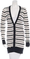 Zac Posen Silk Embellished Cardigan