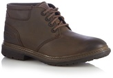 Rockport Brown Leather Chukka Boots