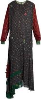 Preen Line Carey floral-print cady dress