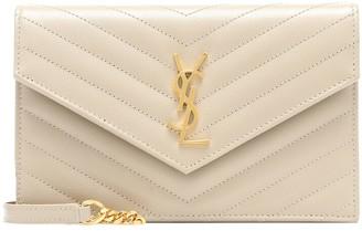 Saint Laurent Envelope Small leather shoulder bag