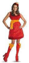 Disguise Elmo Costume Womens Sexy Elmo Halloween Sesame Street S