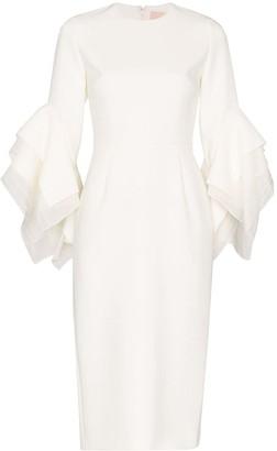 Roksanda Ronda origami-sleeve dress