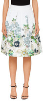 Ted Baker MIOLLA GEM GARDEN BOW BACK SKIRT