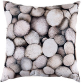 "Torre & Tagus Printed Photo Cushion - 18"" x 18"" - Grey Tone"