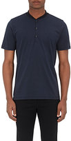 Rag & Bone MEN'S KNOX COTTON HENLEY-NAVY SIZE S