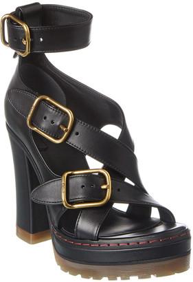 Chloé Daisy Leather Platform Sandal