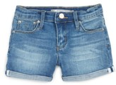 Tractr Toddler Girl's Roll Cuff Denim Shorts