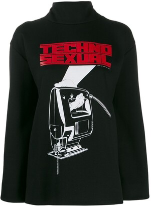 Christopher Kane Techno Sexual print sweatshirt