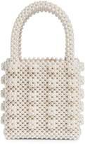 Shrimps Antonia Faux Pearl-Embellished Top Handle Bag