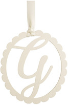 Mud Pie Scalloped Initial Wall Hanger - G