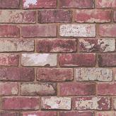 Graham & Brown Wallpaper Sample - Hemingway Brick