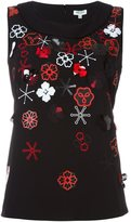 Kenzo 'Tanami Flower' top - women - Polyester/Triacetate - 36