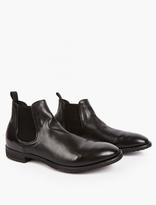 Officine Creative Black Princeton Leather Chelsea Boot