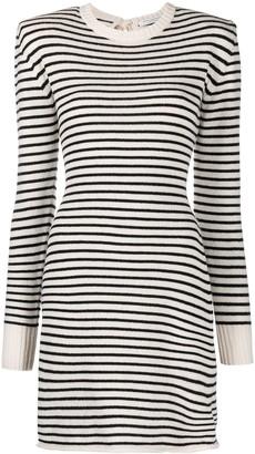 Philosophy di Lorenzo Serafini Striped Jumper Dress