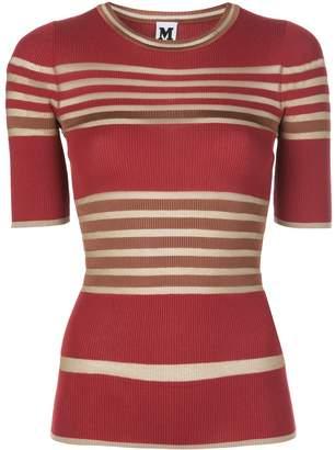 M Missoni striped ribbed T-shirt