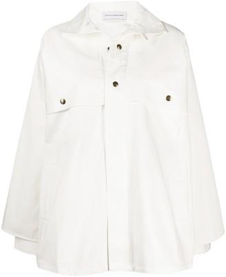 Faith Connexion Layered White Jacket