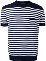Ermanno Scervino striped knit T-shirt - men - Cotton - 52