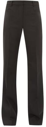 Joseph Sloane Tailored Wide-leg Twill Trousers - Black