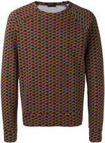 Marc Jacobs rainbow print sweatshirt - men - Cotton - M