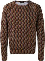Marc Jacobs rainbow print sweatshirt
