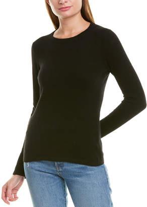 Qi Basic Cashmere Crew Sweater