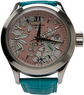 John Isaac Floral Painted Watch