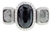 Todd Reed Triple Fancy Diamond Ring - Palladium