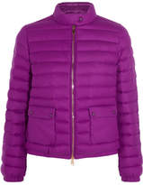 Moncler Actea Quilted Cashmere Down Jacket - Magenta