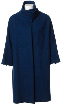 Marni Blue Wool Coat for Women
