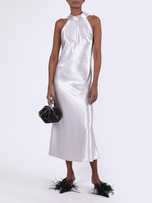 Galvan Sienna Silver Dress