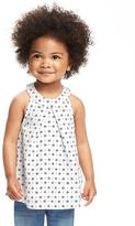 Old Navy High-Neck T-Back Swing Top for Toddler