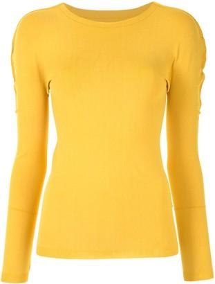 Issey Miyake A-Poc Airy long-sleeve top