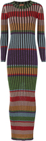 Missoni Multicolor Striped Lurex Maxi Dress