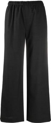 Aspesi Elasticated Wide Leg Trousers