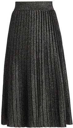 A.L.C. Nevada Lurex Knit Midi Skirt